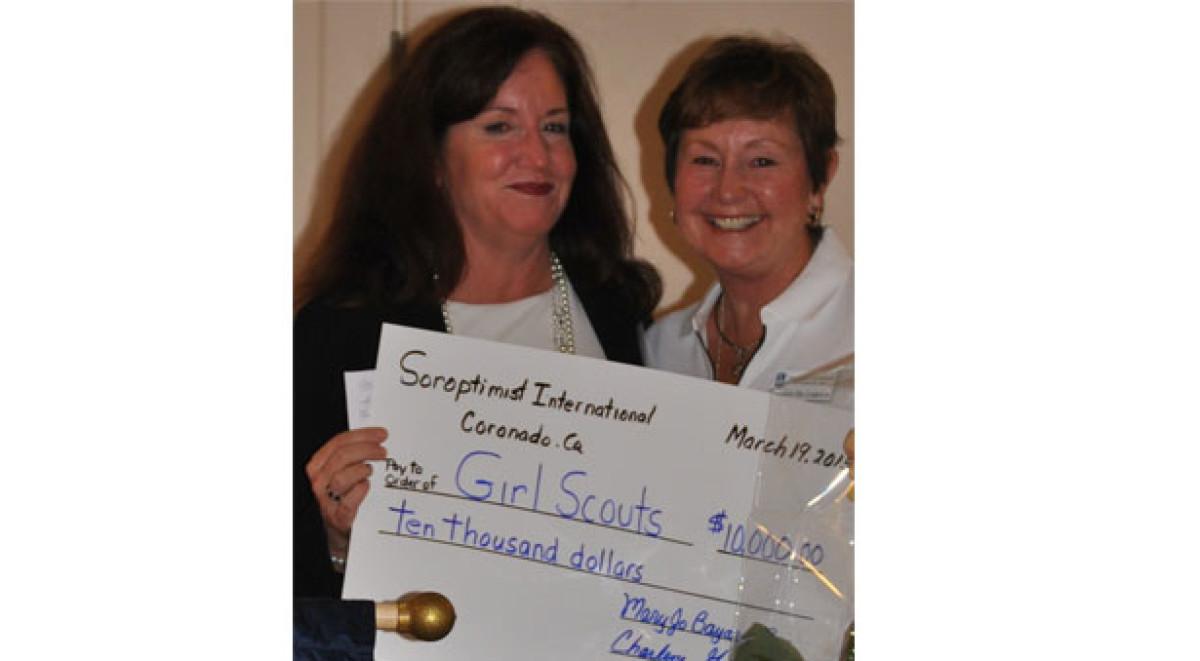 girl scouts san diego imperial county coronado soroptimist