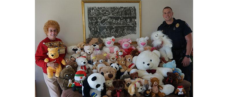 Teddy Bears for Rady's Children Hospital